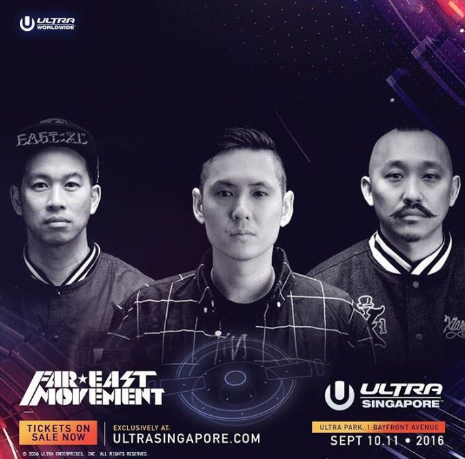 Far East Movement выступят на Live Stage на Ultra Singapore 2016