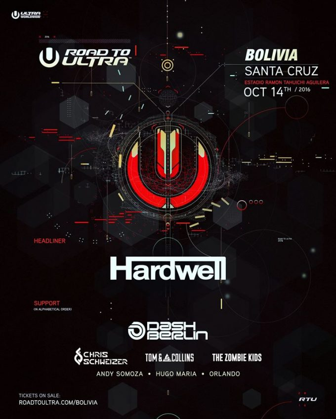 Road to Ultra: Bolivia представили нам лайн-ап фестиваля