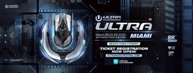 Ultra Music Festival Miami 2020 возвращается в Bayfrontpark